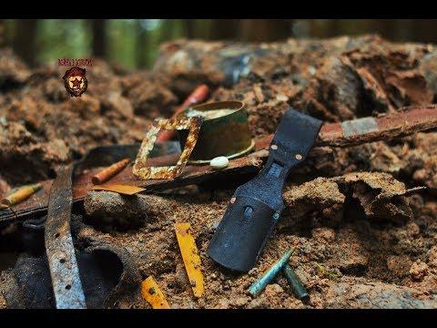 Коп по войне - Блиндаж минус 11 ( Вlindage minus 11 ) / Searching with Metal Detector (видео)