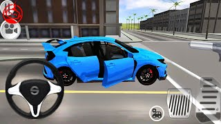 Typer Driving Simulator - Honda Civic Primary Paints - Car Games - Android GamePlay [FHD]