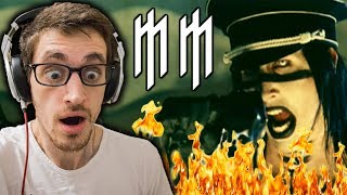 Hip-Hop Head Reacts to MARILYN MANSON: The Fight Song REACTION