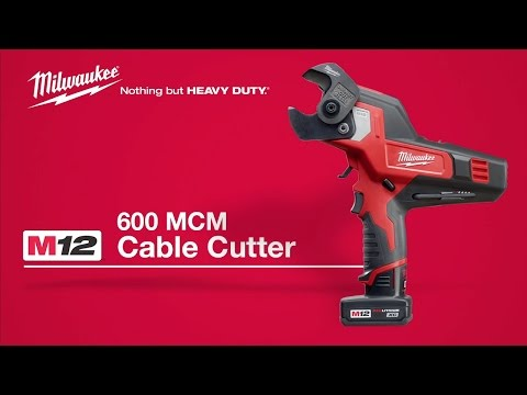 Milwaukee® M12™ 600 MCM Cable Cutter User Testimonial