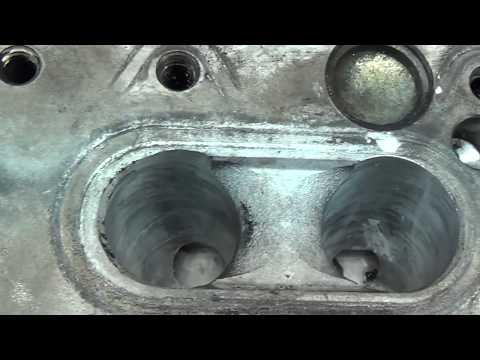 Фото к видео: Теория ДВС - ГБЦ Мерседеса 5 цилиндров (обзор конструкции).