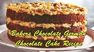 original german chocolate cake recipe from scratch