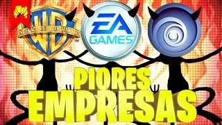 As 10 Piores Empresas de Video Games