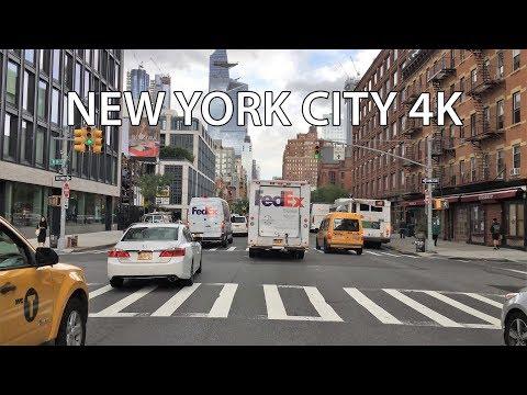 New York City Drive 4K - Hudson Yards - USA