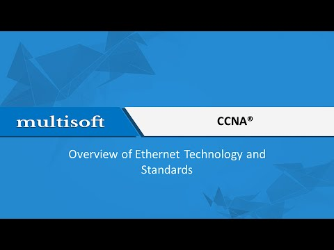 Ethernet Technology and Standards in CCNA Training