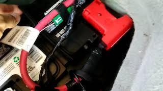 Replace Battery 2011 Chevrolet Traverse HD