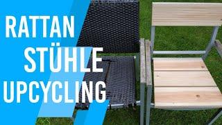Gartenstühle aus Rattan aufarbeiten/reparieren | Rattanmöbel einfach restaurieren | DIY