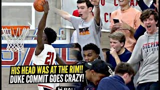 Duke Commit SHUTS THE GYM DOWN & Impresses ISAIAH THOMAS!! Adrian Griffin Jr Is TOO ATHLETIC!!