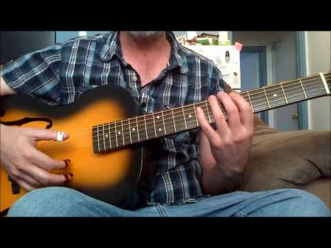 Playing off the chord key Of A Blues