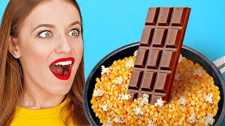 INCREDIBLE FOOD HACKS|| Crazy Food You Can Do With Your Food