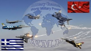 Greece VS Turkey Military Power Comparison | Turkish Army VS Hellenic Army 2016 - 2017