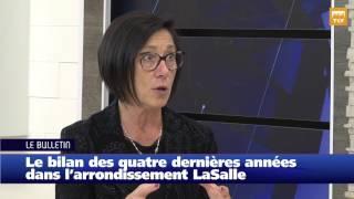 Manon Barbe   Le Bilan Des Quatre Dernières Années Dans L'arrondissement LaSalle