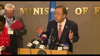 UN Chief Visits Algeria on Western Sahara Dispute, Anti-Terrorism