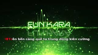 Bến Cảng Quê Hương Tôi   Hoàng Việt Karaoke Beat Chuẩn