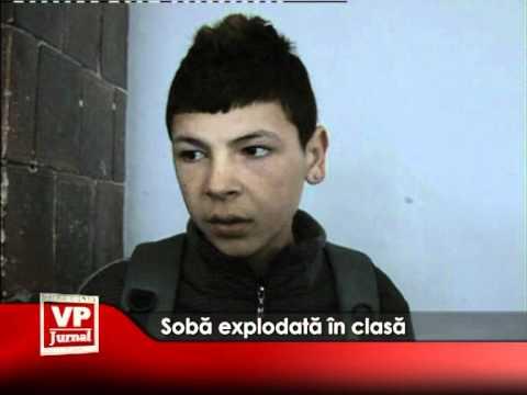 Soba explodată în clasă