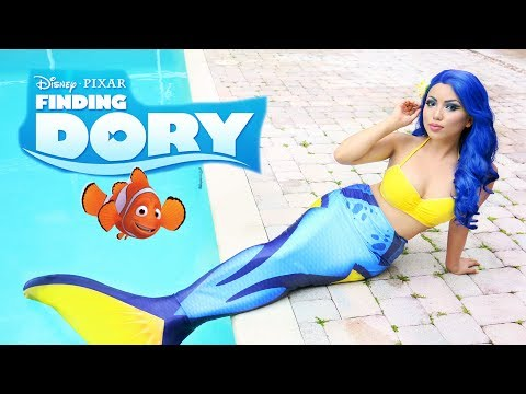 'FINDING DORY' Waterproof Makeup Tutorial !!!