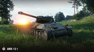 AMX 12 t / Медаль Колобанова и Фадина на Вестфилде