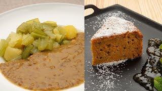Lentejas Con Borraja - Bizcocho De Zanahoria Y Coco - Karlos Arguiñano En Tu Cocina