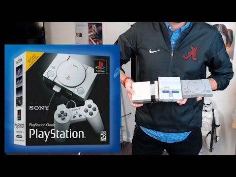 PlayStation Classic Unboxing + SNES/NES Classic Comparison