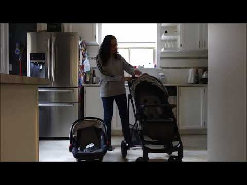 Graco Views travel system stroller and car seat blogger review
