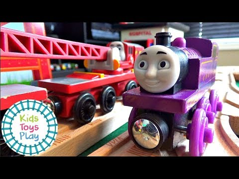 Thomas and Friends Wooden Railway | The Missing Breakdown Train | Playing with Trains Video for Kids