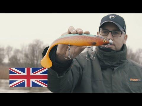 Shad Fox Rage Firetail PRO Shad II 23cm Rudd Goldfish