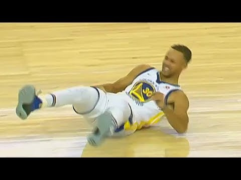 Stephen Curry Scary Injury