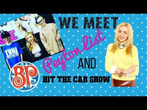 We Meet Peyton List & Car Stuff