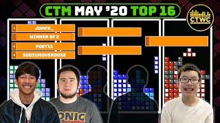 May 2020 CTM - Orange Bracket - Classic Tetris Monthly