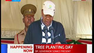 President Uhuru Kenyatta presides over the launch of National tree planting day