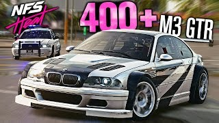 Need for Speed HEAT - BMW M3 GTR Most Wanted Pursuit! (400+ HEAT 5)