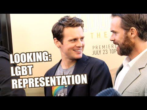The 'Looking' Cast on LGBT Film Representation | Feat. Russell Tovey & More!