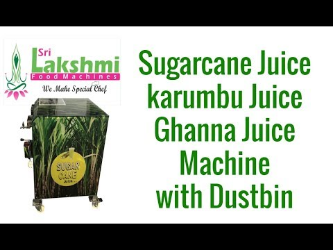 Sugarcane Juice Machine Electrical With Dustbin