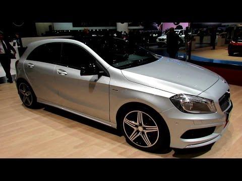 2014 Mercedes-Benz A-Class A250 Sport 4Matic - Exterior, Interior Walkaround-2014 Geneva Motor Show