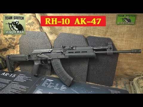 RH-10 Romanian AK 47 Rifle Review