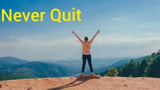 Never Quit - Best Motivational Video 2020 | Self Help Champion
