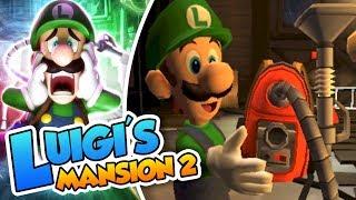 ¡Es hora de aspirar! - #01 - Luigi's Mansion 2 (3DS) DSimphony