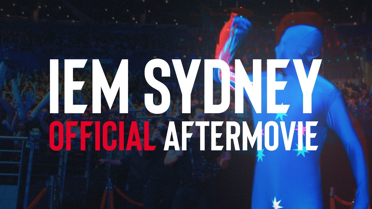 A promo video for last years event, IEM Sydney 2019