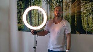 Gutes Fotolicht unter 100 Euro? - Neewer Ringleuchte [Unboxing & Test]