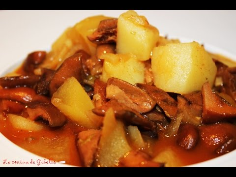 Patatas con niscalos