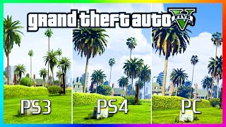 GTA 5 Graphics Comparison - PS3 vs PS4 vs PC! GTA 5 Graphics PC / PS4 / PS3 Comparison! (GTA V)