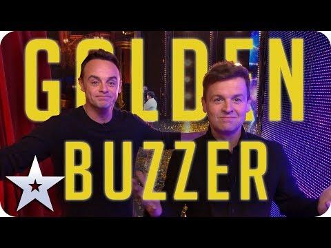 UPDATED 2019 - Ant & Dec's GOLDEN BUZZERS! | Britain's Got Talent