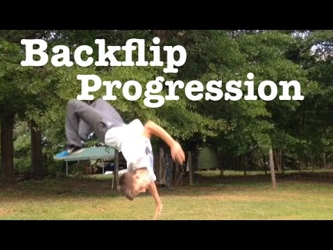 Download BACKFLIP IN 2 DAYS! - Backflip progression HD Mp4 3GP Video and MP3