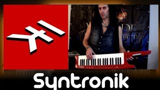 Playing 'Metamorphosis Ouverture' on virtual synth Syntronik by IK Multimedia