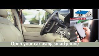 how to unlock a car door using a cell phone