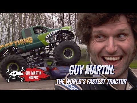 Guy Martin's Day With A Monster Truck | Guy Martin Proper Exclusive