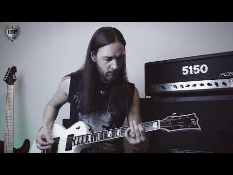 "ESP Guitars: Andy Clarke (THE CRAWLING) play through ""A Time For Broken Things"""