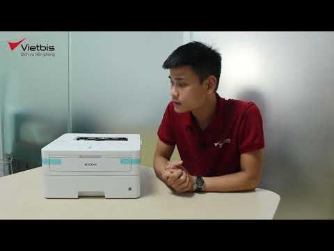 UNBOX máy in Ricoh SP 230dnw: nhỏ gọn, in Wifi, in 2 mặt tự động, in di động