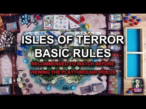 Isles of Terror #2 - Basic Rules