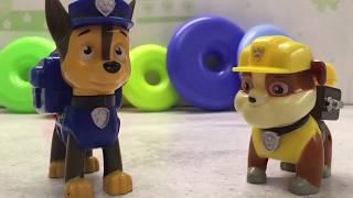 Щенячий патруль, учим цвета с щенками, Каламбон ТВ